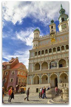 Poznan-Poland - Old City Stary Rynek square City hall