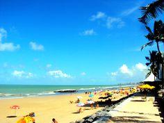 Boa Viagem beach.  Recife - PE / Brazil