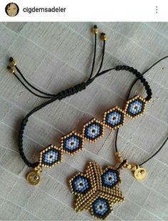 Bracelet Crafts, Seed Bead Bracelets, Seed Bead Jewelry, Bead Jewellery, Beaded Jewelry, Handmade Jewelry, Jewelry Patterns, Bracelet Patterns, Bead Crochet