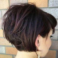 Short Stacked Bob Haircuts for Thick Hair