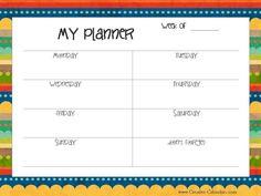 Organization calendar