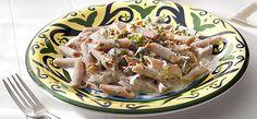 Lite and Creamy Garlic Pasta Creamy Garlic Pasta, Recipe Details, Noodles, Pork, Salad, Club, Chicken, Meat, Sauces
