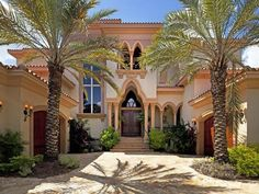 Mediterranean home with a Moroccan bent...