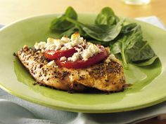 Feta-Topped Chicken recipe from Betty Crocker