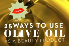 DIY beauty recipes that use olive oil, including as an eye makeup remover, to treat dandruff, and as a shaving cream. Beauty Care, Beauty Skin, Health And Beauty, Diy Beauty Treatments, Hair Treatments, Diy Makeup Remover, Beauty Makeover, Beauty Recipe, Dandruff