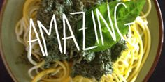 Hippie Hemp Pesto (Raw and Vegan) Healthy Dishes, Amino Acids, Raw Food Recipes, Allrecipes, Pesto, Hemp, Cabbage, Protein, Nutrition