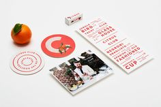The Dewberry Hotel, The Citrus Club and Henrietta's by Franklyn — The Brand Identity