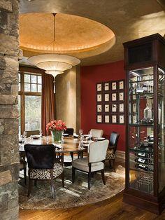 Design Associates - Lynette Zambon, Carol Merica | Montana | Round Dining Space