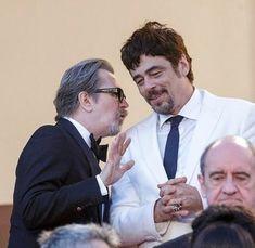 Gary Oldman and Benicio Del Toro, Cannes 2018 Benecio Del Toro, Tim Roth, Montserrat, Cinema Theatre, Gary Oldman, Actors & Actresses, Daddy, Joker, Handsome