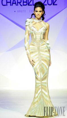 Charbel Zoe Spring-summer 2014 - Couture - http://www.flip-zone.com/charbel-zoe-4261