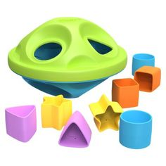 A great toy to introduce shape and color