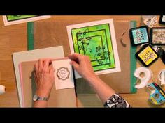 Craft Dies by Sue Wilson -- Tutorial Video - Three Panel Stamping for Creative Expressions Card Making Tutorials, Card Making Techniques, Video Tutorials, Craft Tutorials, Craft Projects, Craft Ideas, Sue Wilson Dies, Spellbinders Cards, Card Tags