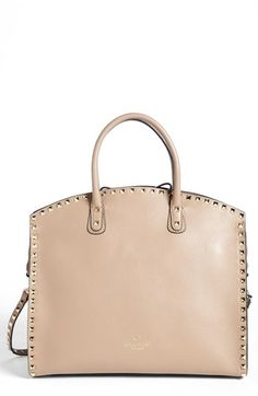 Valentino 'Rockstud' Leather Dome Satchel available at #Nordstrom ... Absolutely beautiful