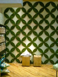 Patterned Living Wall