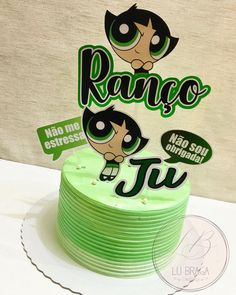 6th Birthday Parties, Birthday Cake, Happy Anniversary Cakes, Green Party, Paper Cake, Shrek, Let Them Eat Cake, Cake Toppers, Cake Decorating