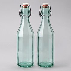Amici Faceted Hermetic Bottles 17 oz  Set of 2 -- You can find more details by visiting the image link.