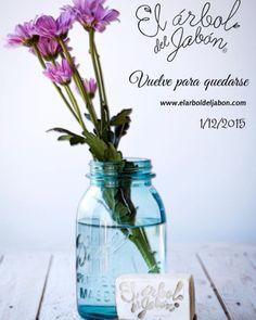 Abrimos mañana!! www.elarboldeljabon.com #elarboldeljabon #estamosdevuelta #cosmeticanatural #madeinspain #cosasbonitas