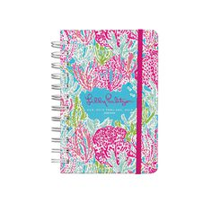 "The Lilly Pulitzer 2014 -Complete with weekly and monthly calendar pages, starting August 2013,The best day planner ever (it's a Lilly Pulitzer planner after all); your friends will turn pink with envy!• Size is 4-3/8"" x 6-5/8"" • Reasons for a Party with holidays • Lilly Pulitzer Planners are popular holiday gift items for girlfriends, sorority girls, teenage girls (you get the idea)!Popular gifts under $20 item! Personalization shown in 3 initial circle in orange"