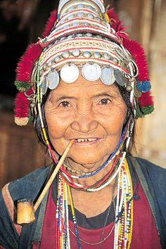Akha woman from Chiang Rai, Thailand