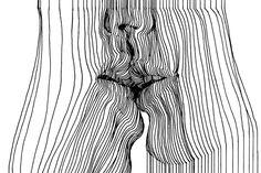Une sélection des illustrations sensuelles et suggestives de l'artiste irlandaisNester Formentera, basé à Dublin, qui compose ses créations avec des assem