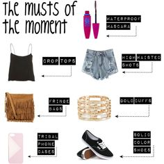 The musts of the moment by miss-chloe13 on Polyvore featuring Vans, Polo Ralph Lauren, Monsoon, J.Crew and Maybelline