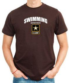 Swimming Department - U.s. Army T-Shirt