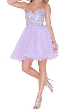 """Angel Bride Short Empire Sweetheart Tulle Cocktail Prom Party Dresses Lavender- US Size 26W. This dress is Made-To-Order. For most accurate measurements, please use the SIZE CHART image on the LEFT. DO NOT use """"Sizing Info"""". The shooting light and setting of your computer screen may cause slight color mismatches. All products are subject to material objects. We will contact you to confirm the measurement details. If there's no reply from you, we will make this dress as our SIZE CHART...."""
