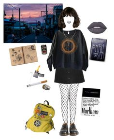 coming home by coffee-and-jazz on Polyvore featuring polyvore fashion style Topshop Dr. Martens Liz Law NOVICA Lime Crime clothing