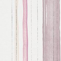 Esprit 10 Strukturtapete Streifen Lila Beige
