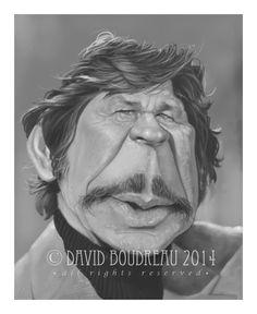 Portraits / Caricatures - The Art of David Boudreau