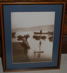Frank Meadow Sutcliffe Framed Photograph/Print  Toy Boats  c1880 s