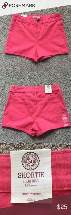 High Waisted Shorts These are so soft and stretchy. They are a lot more comfortable than regular jean shorts. Shorts Jean Shorts