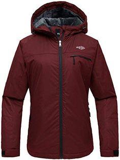 Chic Wantdo Women s Mountain Ski Jacket Windproof Fleece Snow Coat Rainwear  Waterproof Hooded Warm Parka online.   69.98  showmehits from top store a735a7fdc