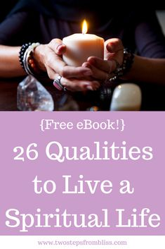 How To Be Spiritual: 26 Qualities| Two Steps From Bliss | This post looks at how to be spiritual by exploring 26 qualities listed by Krishna in the ancient scripture of The Bhagavad Gita. As this post is quite long, I've made it available to download as an ebook so you can read later. You will also get a bonus of 26 exercises to practice these spiritual qualities in your daily life. Download now! #twostepsfrombliss #spiritualinspiration #spirituality Meditation Benefits, Guided Meditation, Learn To Meditate, Bhagavad Gita, Spiritual Path, Spiritual Practices, Read Later, Finding Peace, Humility