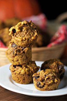 Chocolate Chia Pumpkin Muffins ~vegan~ Kid-friendly superfood muffins!