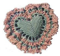 How to make Heart Pillow - DIY Craft Project with instructions from Craftbits.com