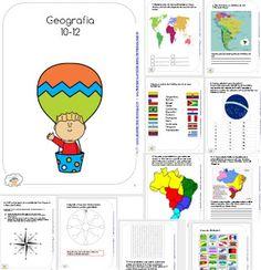 Ensino Domiciliar - APOSTILAS DIGITAIS: Apostila de Geografia I para 11 anos e 12 anos