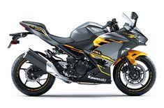 2018 Kawasaki Ninja® 400 ABS - Pearl Solar Yellow/Storm Gray for sale in Victoria, TX Kawasaki 250, Kawasaki Ninja, Kawasaki Motorcycles For Sale, Cycle Shop, Moto Bike, Daihatsu, Super Bikes, Bike Life, Motor Sport