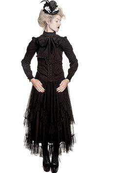 026ed556ee2 VIRGINIA GOTHIC BLOUSE Spin Doctors