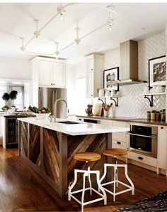 moderne landhausküchen mit kochinsel - Google-Suche | küchen ... | {Moderne landhausküchen mit kochinsel 78}