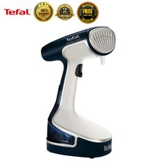 Tefal DR8085 Handheld Portable Garment Steamer Fabric Steam Iron Clothes New #Tefal