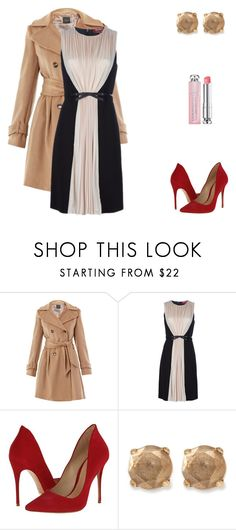"""""""Never Gonna Be Alone"""" by brelea-1 ❤ liked on Polyvore featuring Weekend Max Mara, MaxMara, Schutz, Lucky Brand and Christian Dior"""