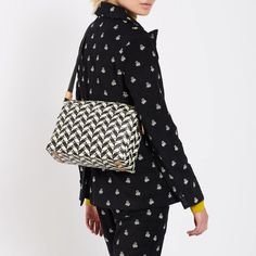 Browse our collection of designer accessories by Orla Kiely online now at the Kilkenny Shop. Orla Kiely Handbags, Everyday Bag, Your Perfect, No Frills, Designer Handbags, Crossbody Bag, Sweatshirts, Leather, Card Holder