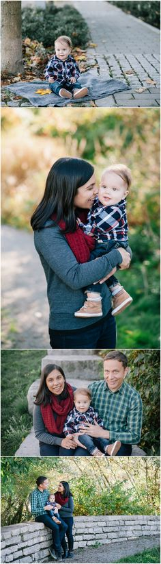 Fall family photos, with a family of 3, at False Creek in Vancouver – mhouser photography - Vancouver Wedding & Family Photographer