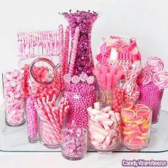 Southern Blue Celebrations: Pink Candy / Dessert Tables