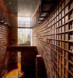 Tadao Ando - Ryotaro Shiba museum, Osaka 2001. Via, photos (C) Will Pryce.