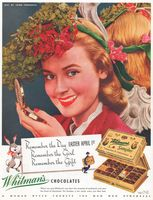 Whitman's Chocolates, Easter 1945 Ad Picture