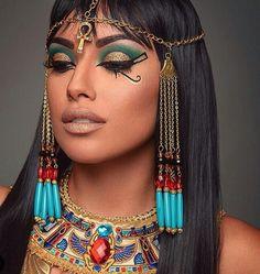 Egyptian makeup   Supernatural Style