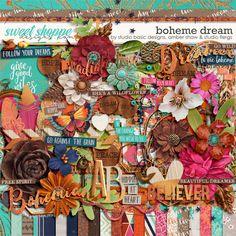 Boheme Dream Kit by Amber Shaw, Studio Basic and Studio Flergs