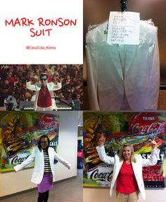 (coke code 152) 2012 런던 올림픽 코카-콜라송의 주인공! 세계적인 패션 아이콘! Mark Ronson의 화이트 자켓입니다! WOW! 같은 옷 다른 느낌인가요? ^^